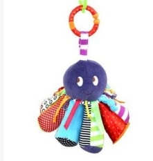 Octopus with BB is bed hanging educational toys Magic Mirror