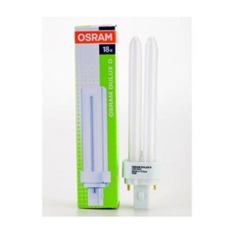 Osram Dulux D 18w Energy Saving 2-PIN PLC Lamp DAYLIGHT [18W/865]