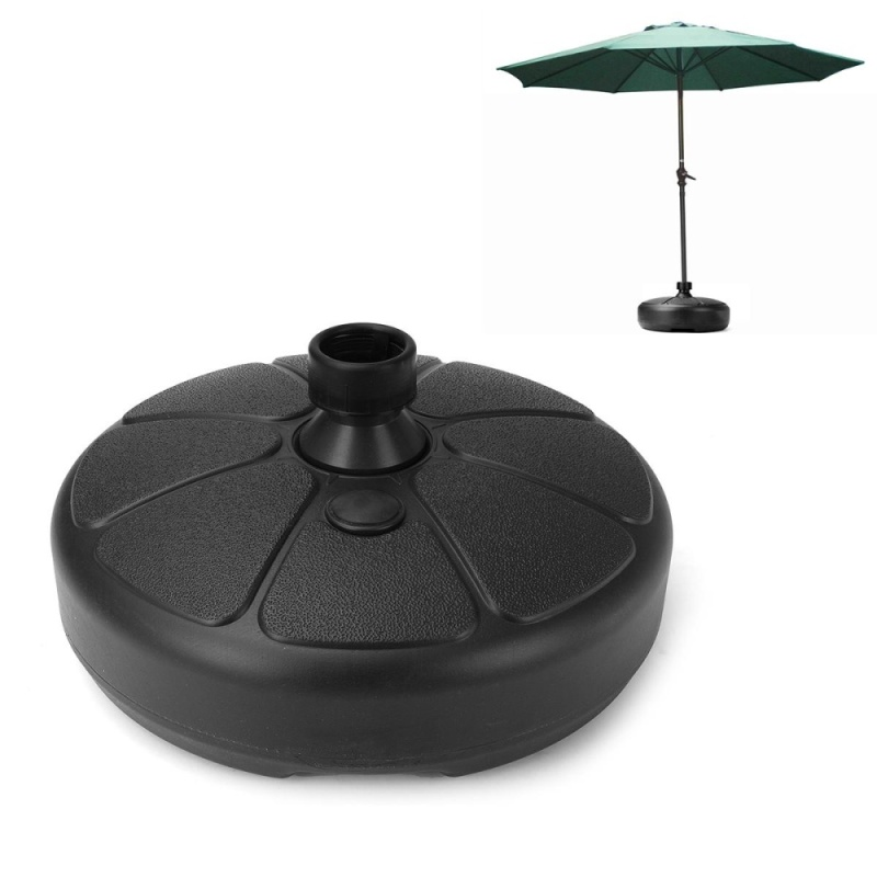 Parasol Umbrella Base Stand Patio Furniture Outdoor Garden Fill With Water/Sand
