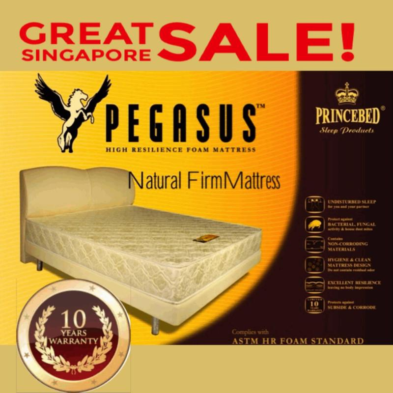 Pegasus Natural Firm High Density Foam Super Single 8 Inch Mattress