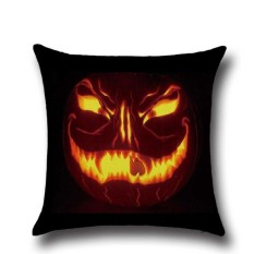 Perfectworld Practical High-quality Hot Sell Halloween Ghost Printed Sofa Bed Car Home Decor Throw Pillow Cushion Case Cover 1 - intl