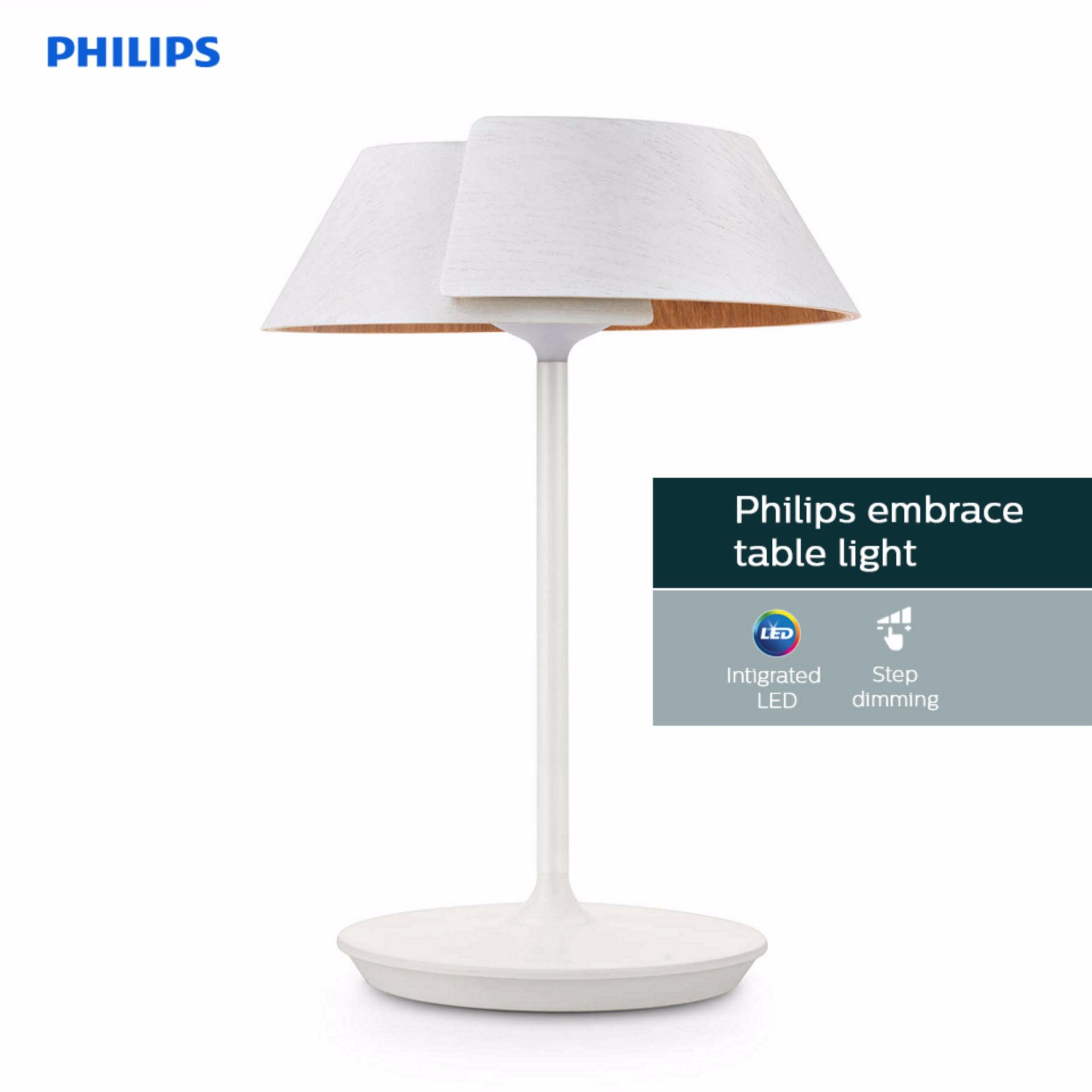 Philips 49023 embrace table lamp led white singapore philips 49023 embrace table lamp led white geotapseo Gallery