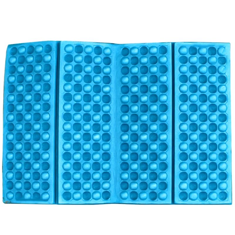 Portable Foldable Foam Moisture Proof Seat Cushion EVA Mat Pad Garden Camping Picnic (Blue)