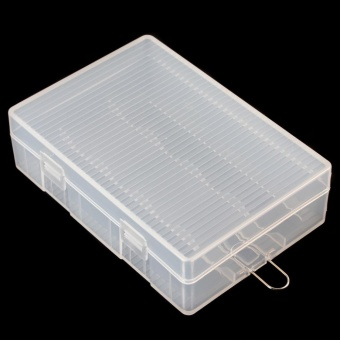 Portable Hard Plastic Case Holder Storage Box for 4 x 26650Batteries - intl