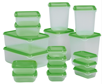 Portable sets of microwave Lunch Container fresh sealed box