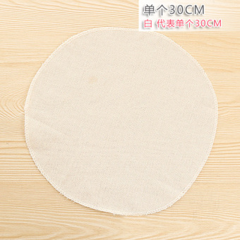 Pure Cotton breathable steamed bread pad gauze steamer cloth