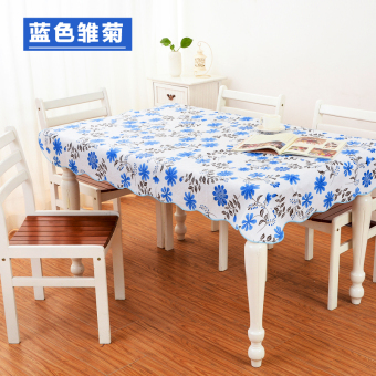 PVC anti-oil Round Table tablecloth waterproof tablecloth