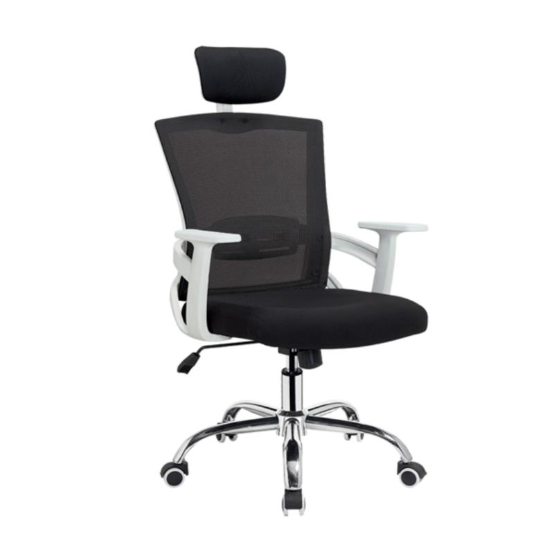 Quartz High Back  Mesh Office Chair (White Frame) Singapore