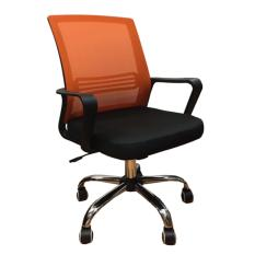 QUARTZ II Low Back Office Chair (Orange)  | Mesh Chair Singapore