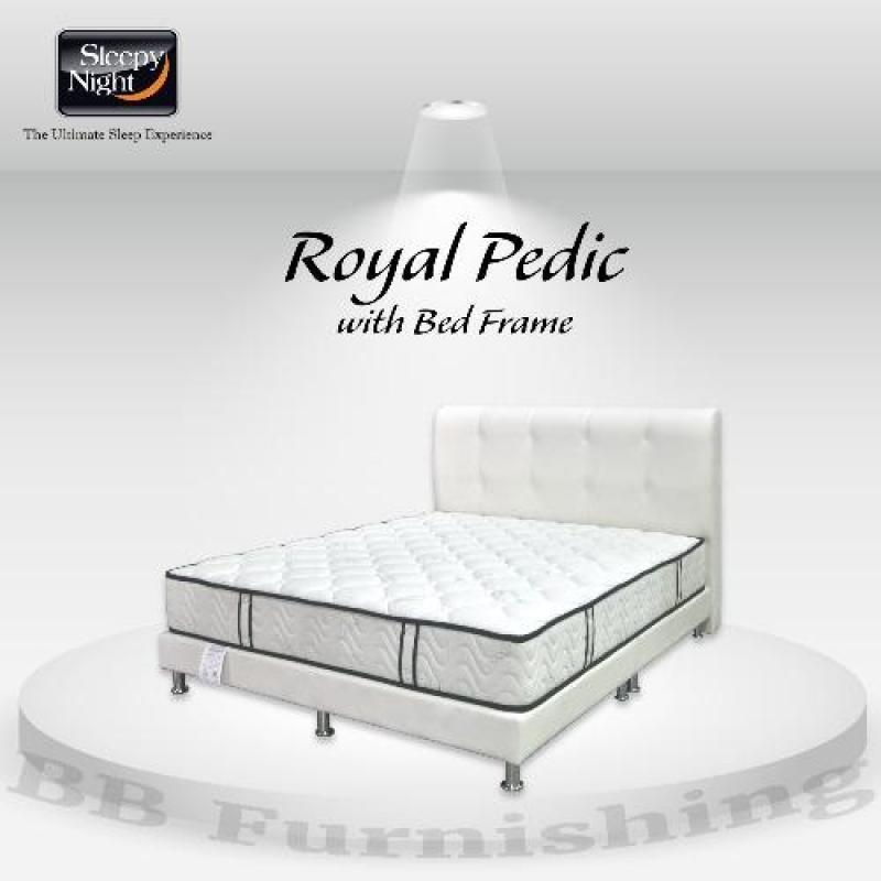 Queen Royal Pedic Mattress + E9 Bedframe