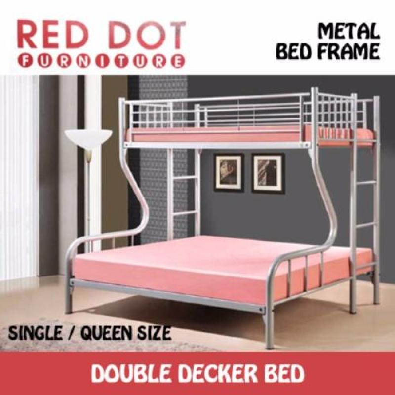 Red Dot Furniture Double Decker Bed Frame (Without Mattress)