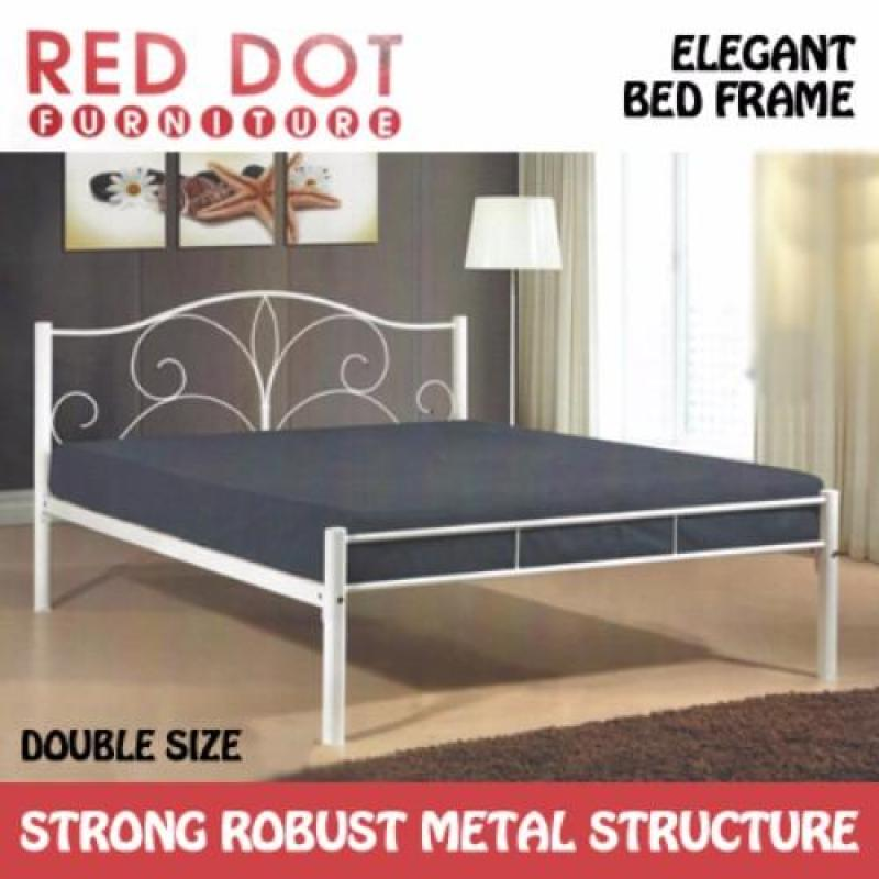 Red Dot Furniture Flower Double Bed Frame (Without Mattress)