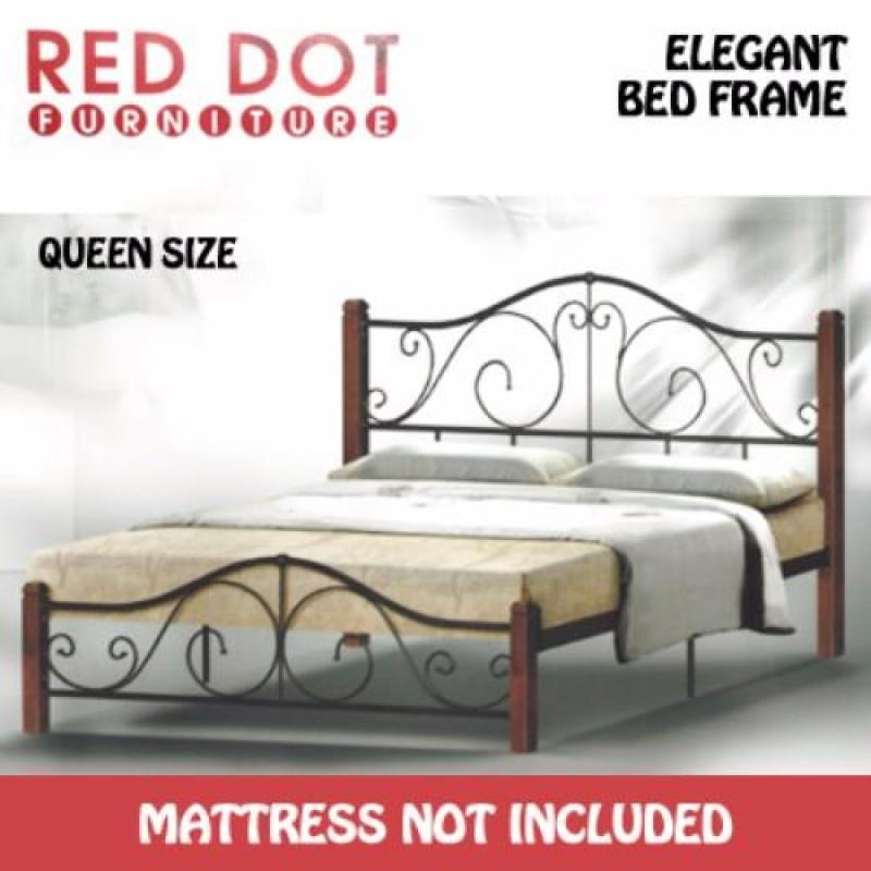 Red Dot Furniture OM521 Queen Size Bed Frame (Without Mattress)