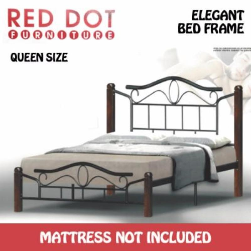 Red Dot Furniture OM522 Queen Size Bed Frame (Without Mattress)