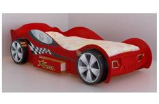 Red F1 Racing Car Bed With Drawer