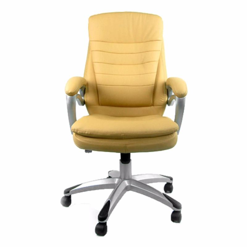 Rosswell 719BT Office Chair (Khaki/PU Leather)(Installation Option Available) Singapore