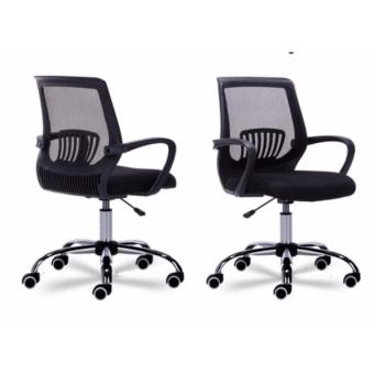Royce Office Chair (Mesh, Classic Black ) - 4