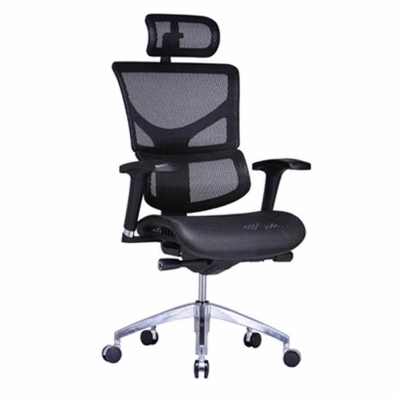 SAIL Basic Ergonomic Office Chair (Black)(Installation Option Available) Singapore