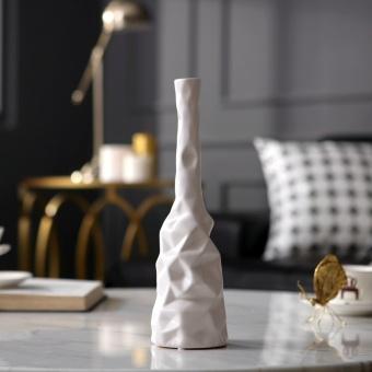 Scandinavian Minimalist Home Jewelry Geometric Ceramic Vase Decoration Model Room Living TV Cabinet Ornaments