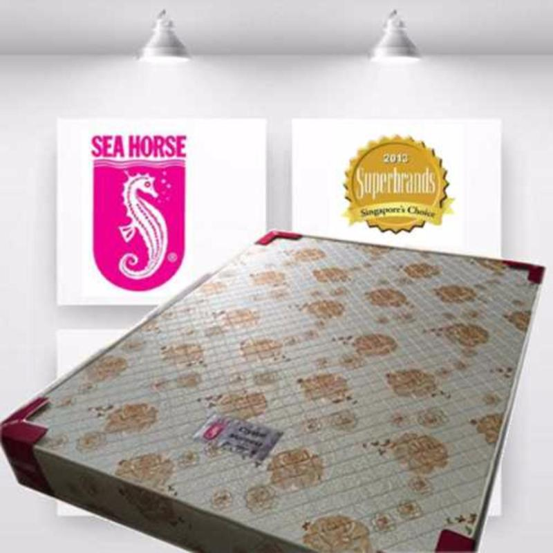 Sea Horse Crystal Queen 4in