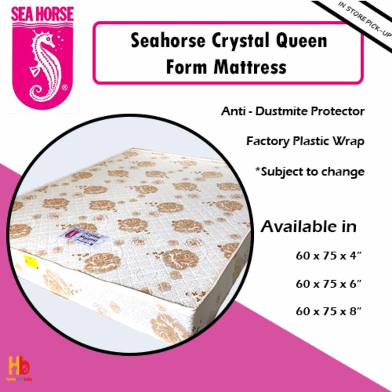 Seahorse Crystal Queen Foam Mattress 60' x 75' x 4'