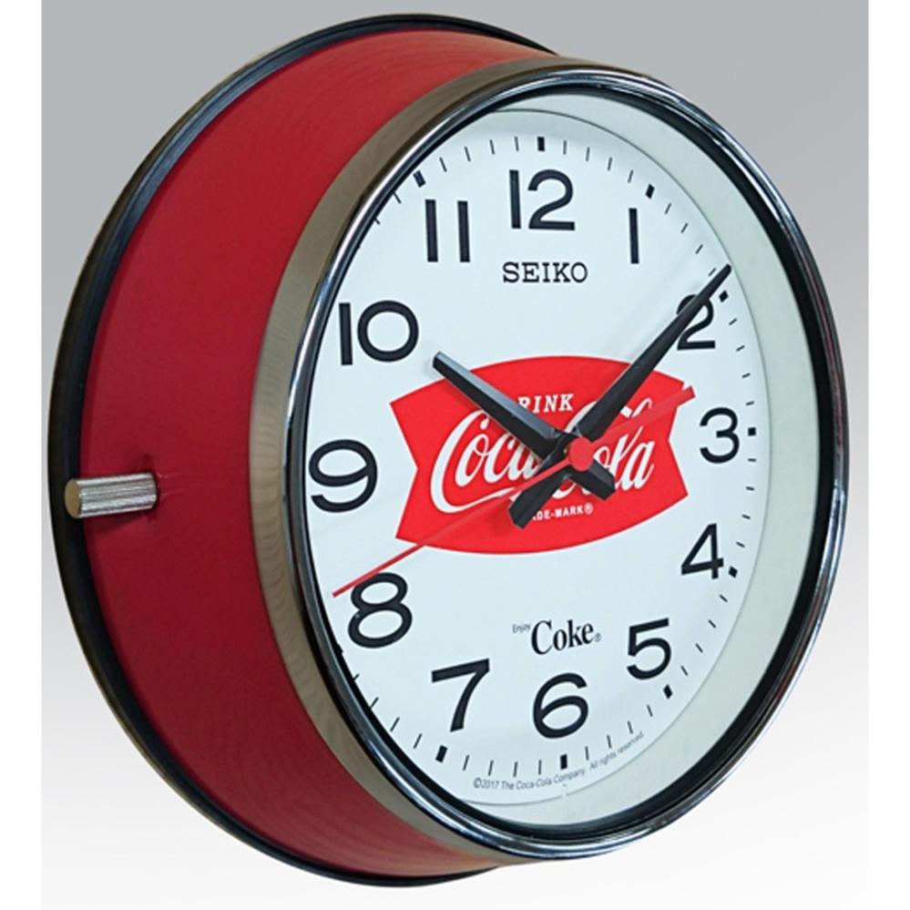 Seiko Coca Cola Vintage Wall Clock Qxa923r Singapore