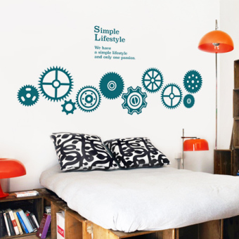 Send Shipping Insurance Art Wall Stickers Large Living Room TV Background Wall  Stickers Creative Room Decorations Part 79