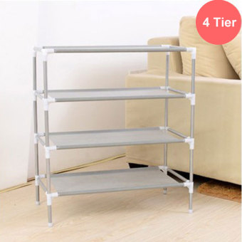 Shoe Rack4 tier shelf storage organizer Cabinet