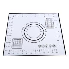 Silicone Rolling Dough Pad Baking Mats Measurements 26*29cm - intl