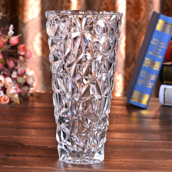 Harga Simple lucky bamboo Lily glass vase