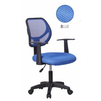 Harga Simple Mesh Office Chair B70-BLUE (Free Delivery)
