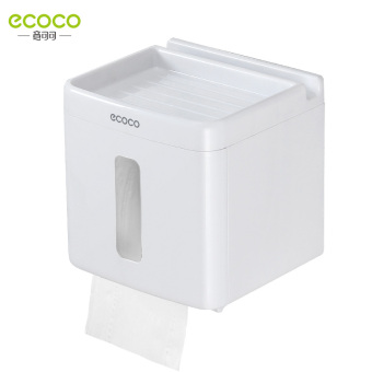 Simple Plastic Roll Tube waterproof toilet paper box tissue box