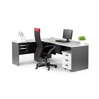 Harga Simply Office Furniture Executive L-Shaped Table Set