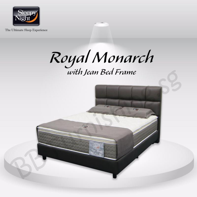 Sleepy Night (King) Royal Monarch Mattress with Jean Bedframe