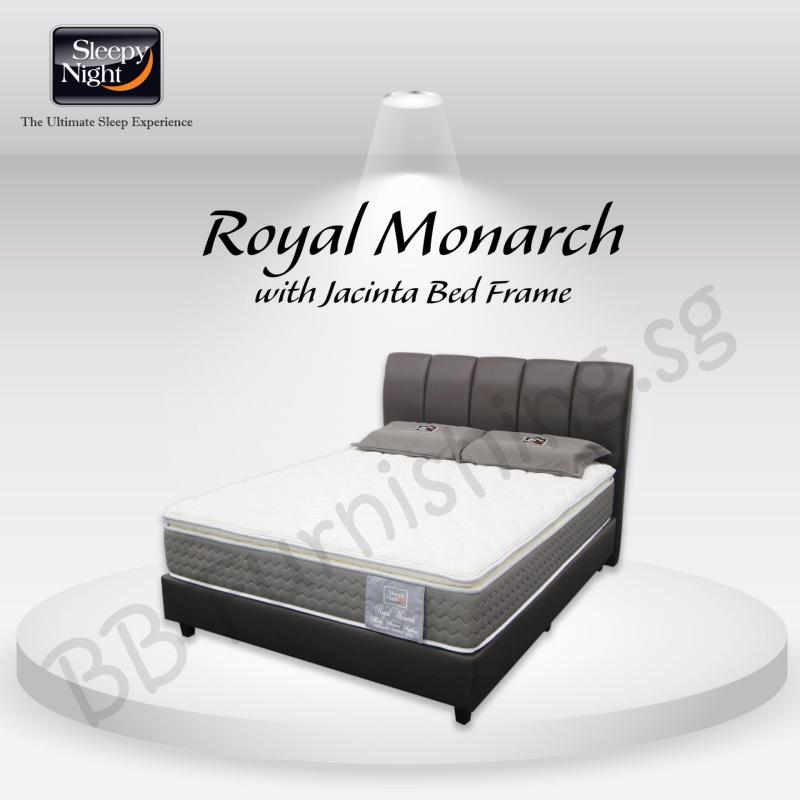 Sleepy Night (Single) Royal Monarch Mattress with Jacinta Bedframe