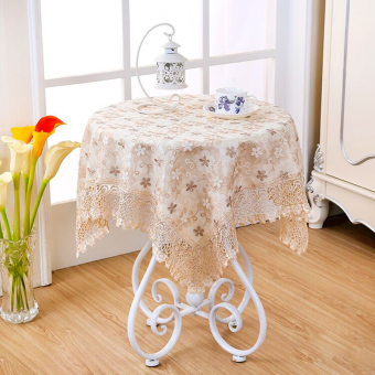 Small Round Table square fabric rectangular dining table tablecloth