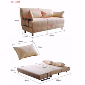 Sofabed Type E 1.5m - 3