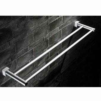 Harga Space Aluminum Towel Rack Bathroom Accessories - intl