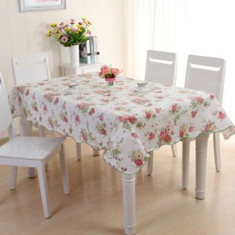 Special Rectangular PVC waterproof table tablecloth