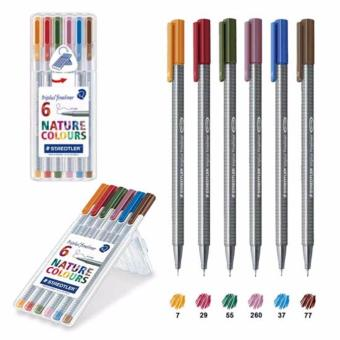 Harga STAEDTLER Nature colours triplus(R) fineliner 334 6 nature colours