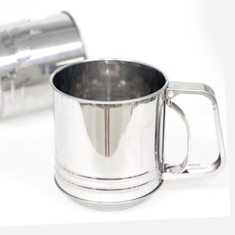 Stainless Steel Sieve Flour Cup