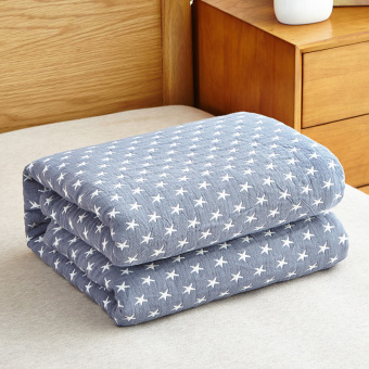 Star nap cover blanket single or double cotton gauze