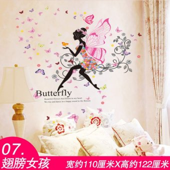 Sticker Wall Stickers Girls Bedroom Wall Wallpaper Background Wallpaper  Adhesive Cozy Hostel Creative Decorations Part 84