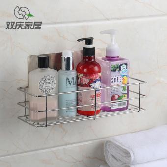 Suction Cup Bathroom Toilet Storage Rack Shelf