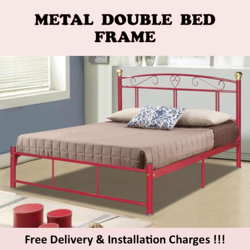 SUZANNA Double Bed with Plywood Support
