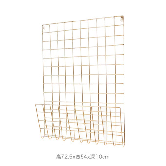 Tansonic wire network wrought iron photo wall mesh shelf