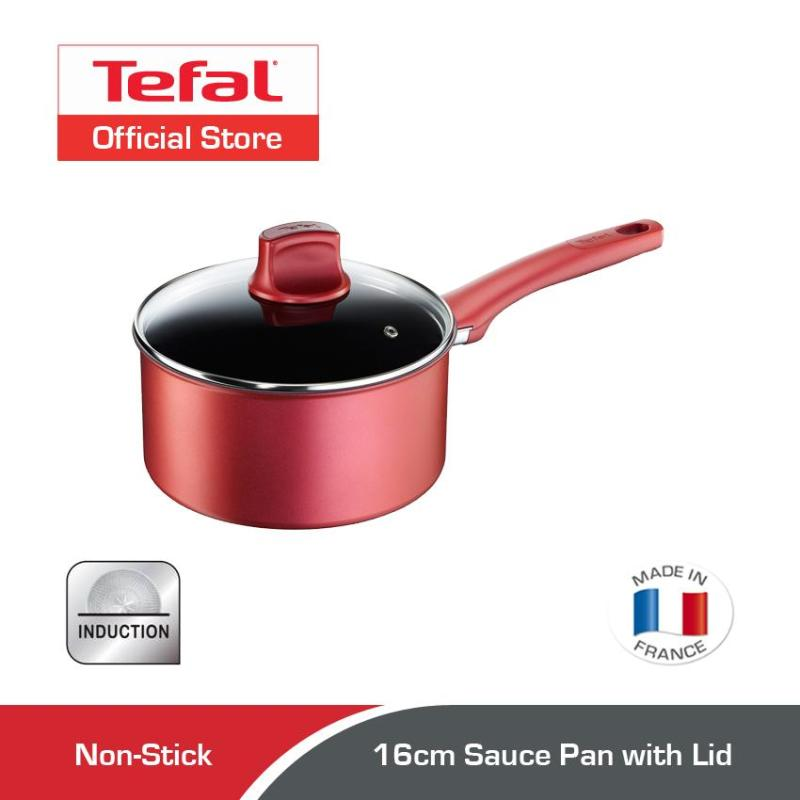 Tefal Character Sauce Pan w/Lid 16cm C68222 Singapore