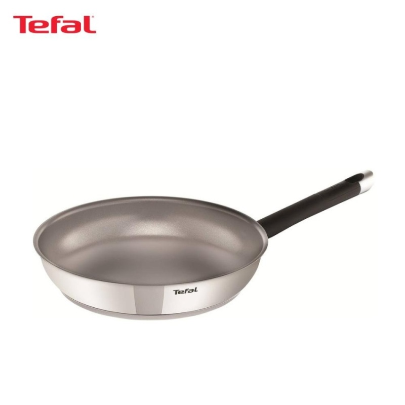 Tefal Emotion Stainless Steel Frypan 28cm - E8230624 Singapore