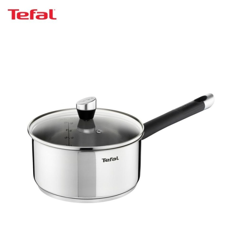 Tefal Emotion Stainless Steel Saucepan 16cm w/Lid - E8232224 Singapore