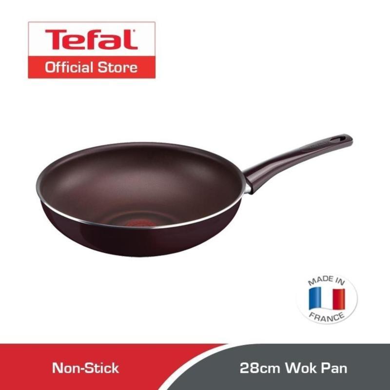 Tefal Pleasure Wok Pan 28cm D50219 Singapore